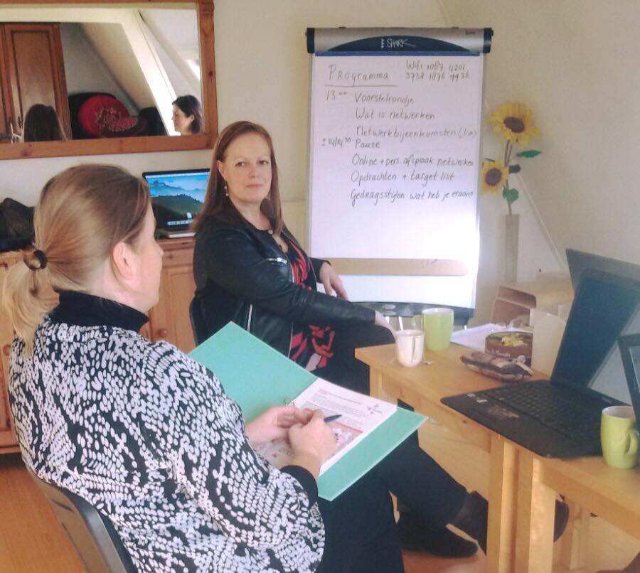 Workshop netwerken van Betty – 2015