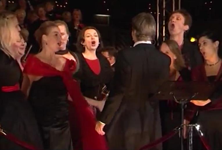 Betty als diva; operanacht in Monnickendam – 2010